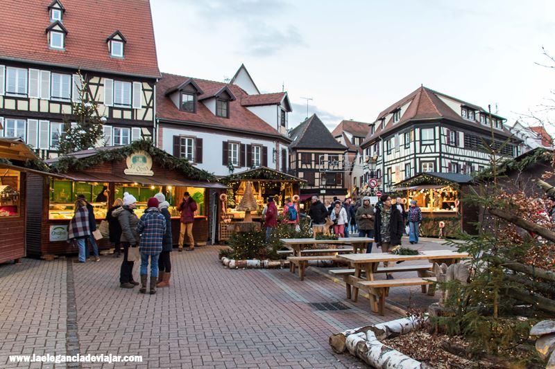 Plaza del mercado de Obernai