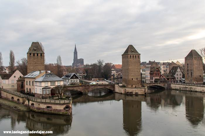 Ponts couverts en Estrasburgo