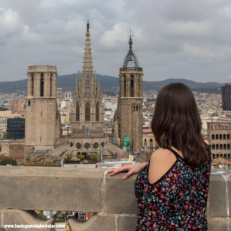 Vistas desde el campanario de la Basílica dels Sants Just i Pastor