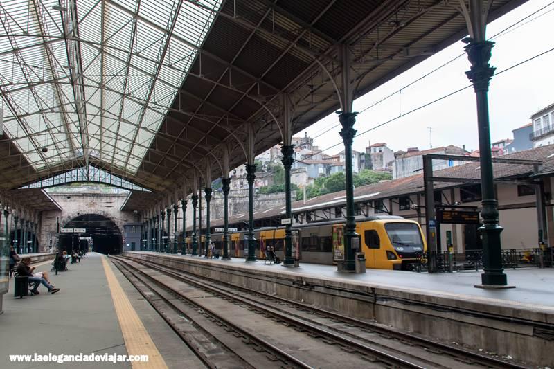 Estación de Sao Bento en Oporto