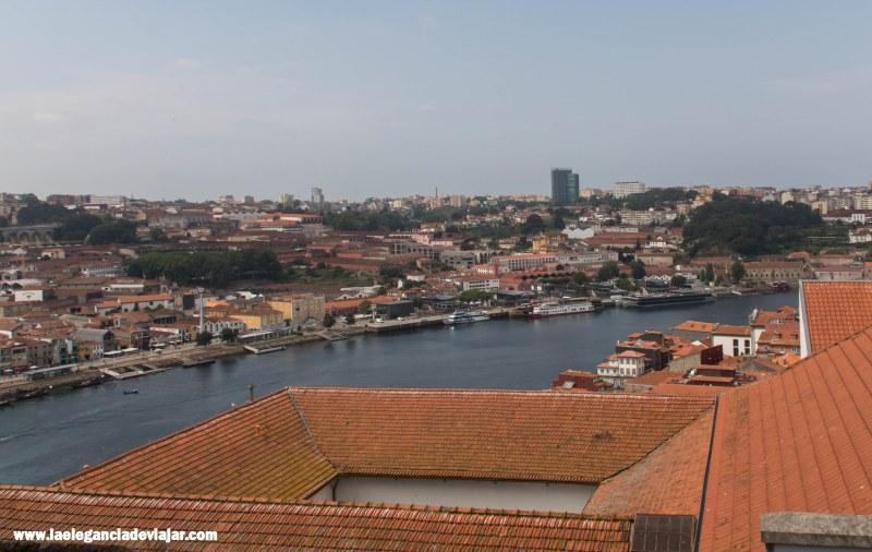 Vistas desde la Sé de Oporto