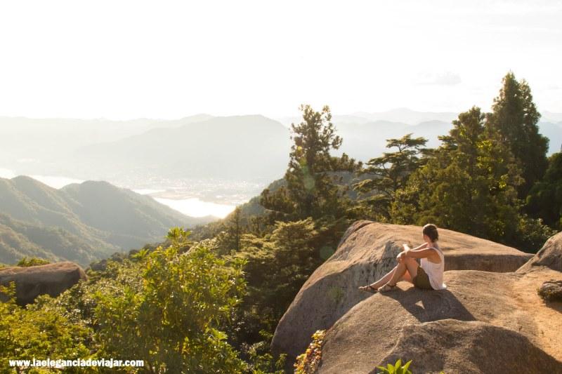 Monte Misen, en la isla de Miyajima