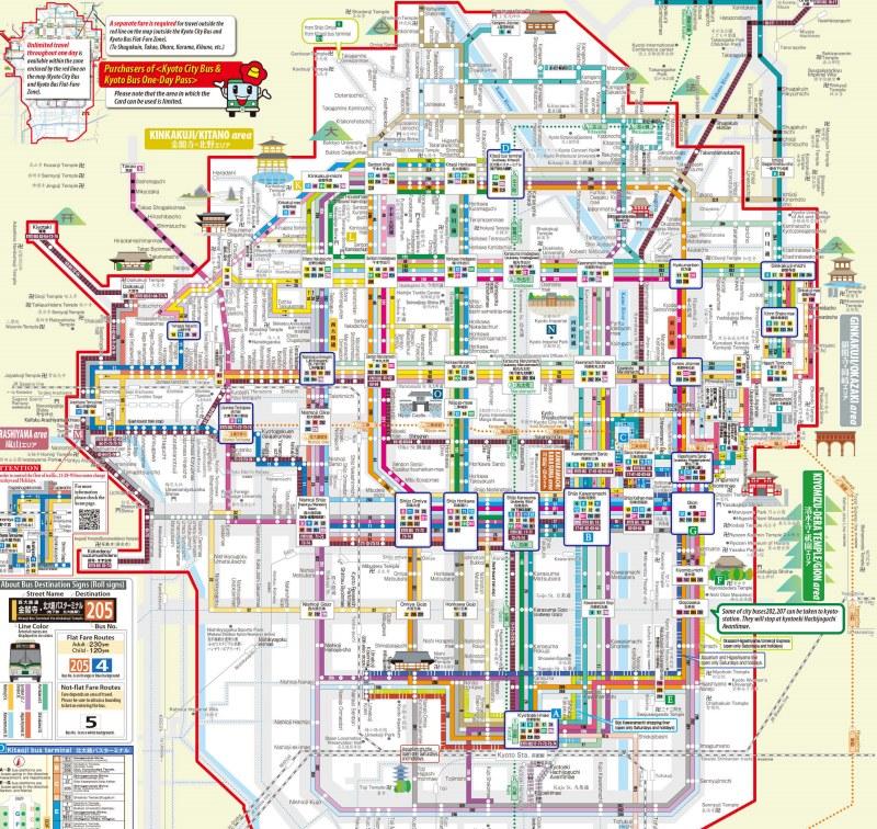 Red de autobuses de Kioto