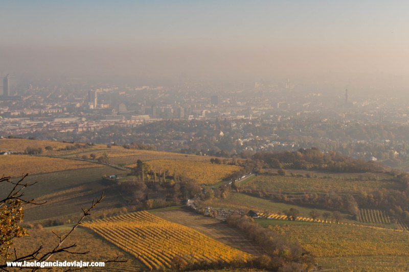 Vistas de Viena desde Kahlenberg