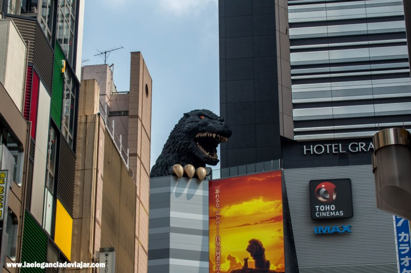Gozilla en Shinjuku