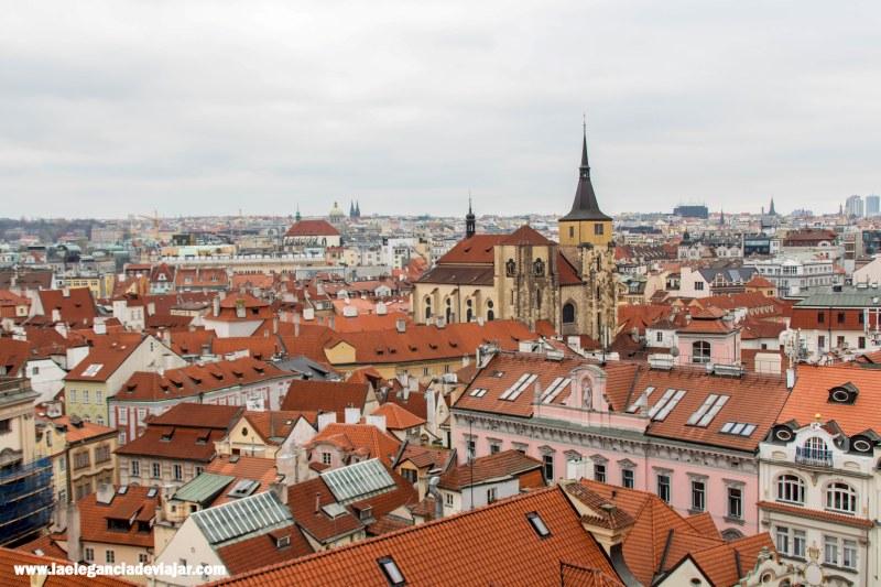 Vistas de Praga desde el Klementinium