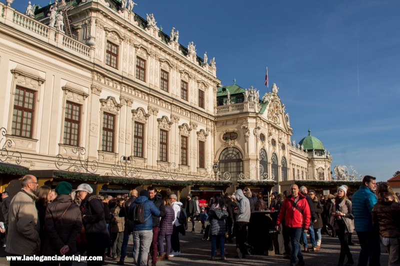 Palacio Belvedere en navidad