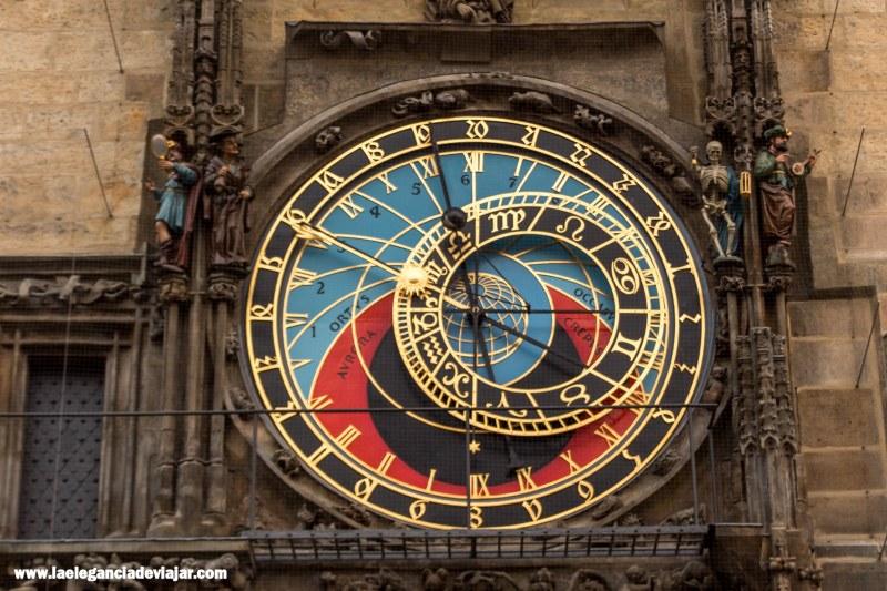 Esfera astronómica del reloj astronómico de Praga