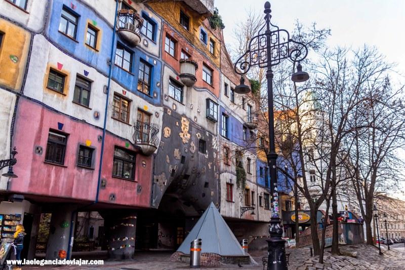 Hunderwasser Haus en Viena