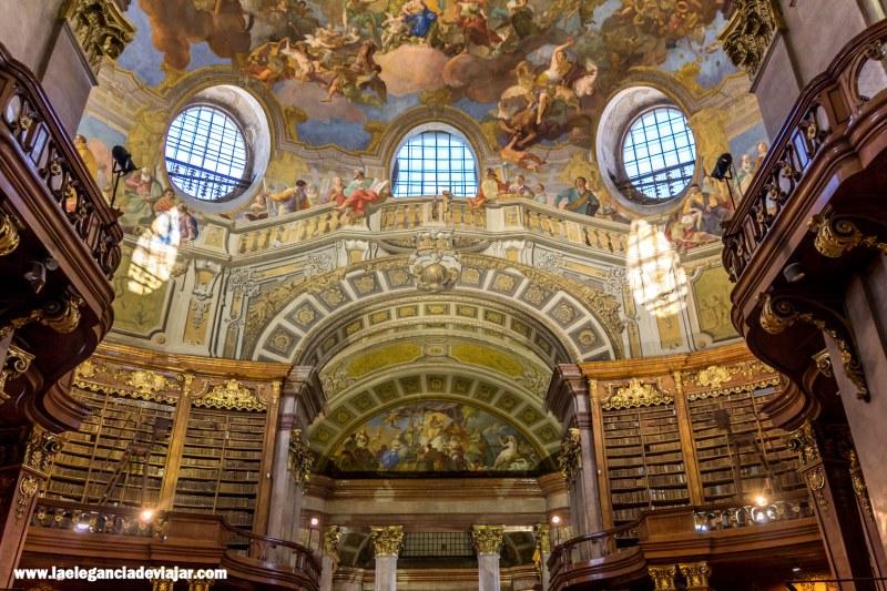 Biblioteca nacional en Viena
