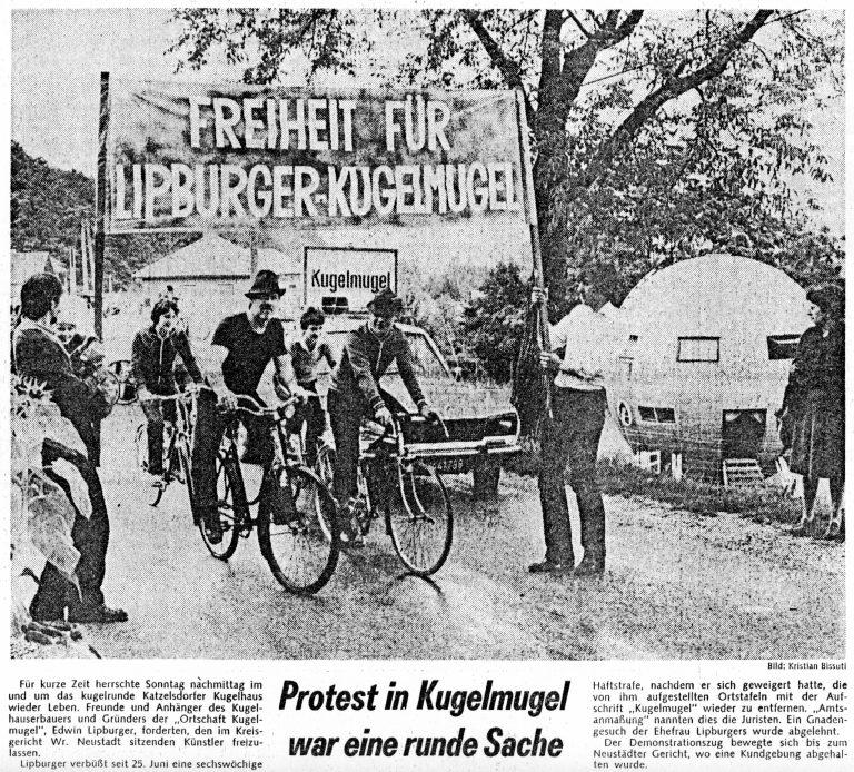 Protestas a favor de la República de Kugelmugel