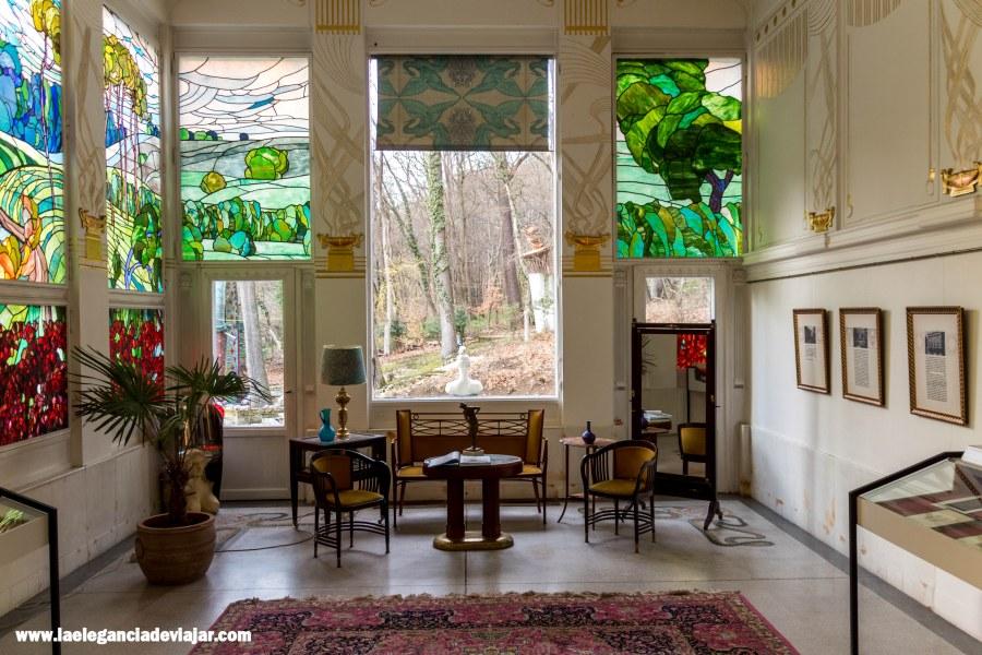 Sala de Adolf-Böhm en la Villa de Otto Wagner