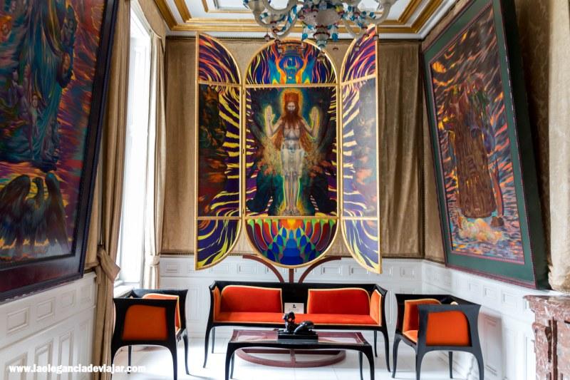 Sala de la Música en la Villa de Otto Wagner