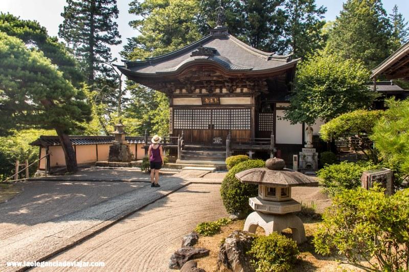 Templos en el Paseo de Higashiyama en Takayama