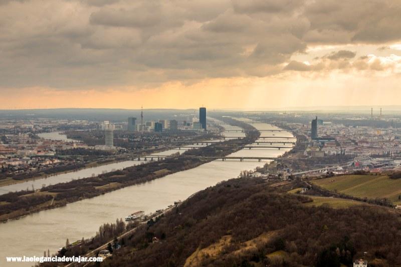 Vistas de Viena desde Leopoldsberg