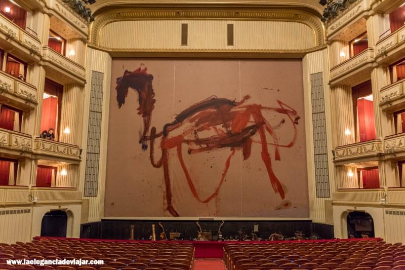 Auditorio de la Ópera de Viena