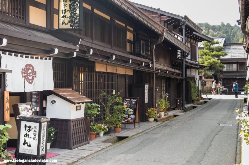 Barrio Sanmachi Suji en Takayama