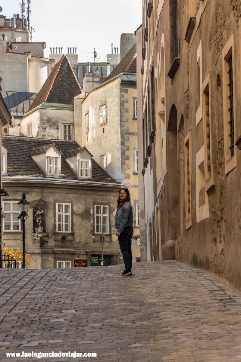 Calle Griechengasse en Viena