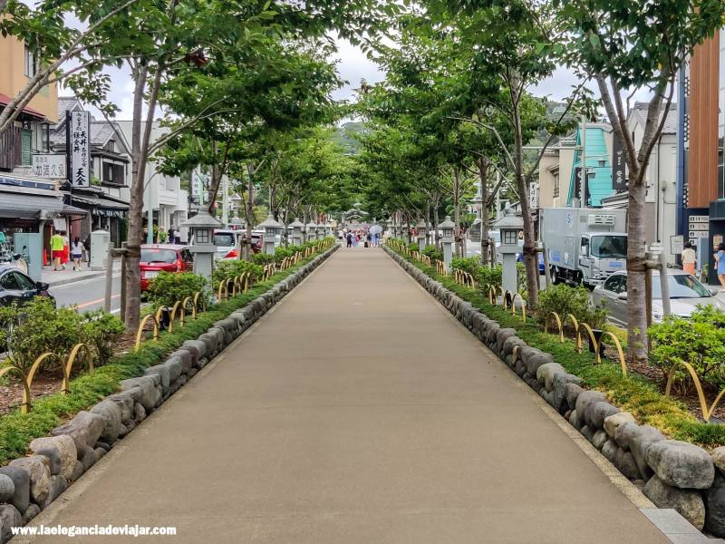 Camino sagradode Wakamiyaoji