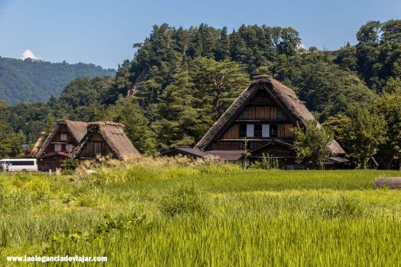 Casas Gassho en Shirakawa-go