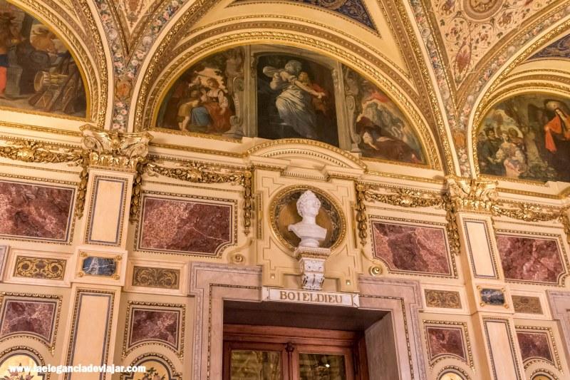 Interiores de la Ópera de Viena
