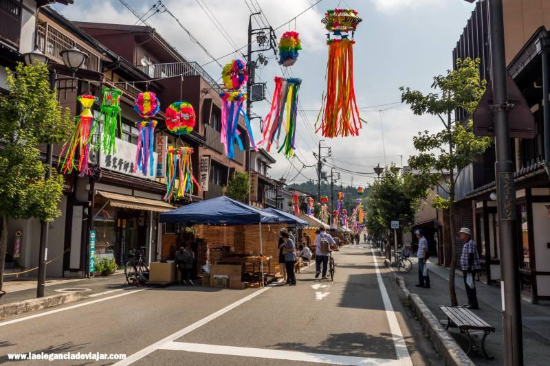 Mercado en Takayama