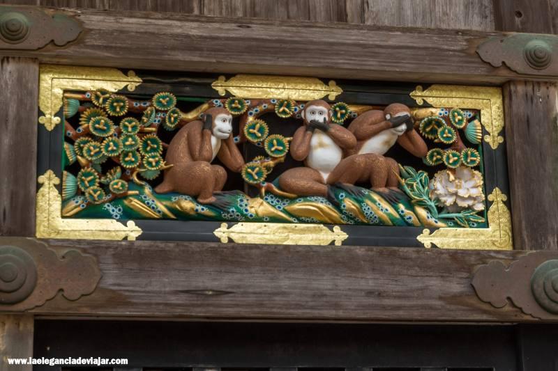 Monos en Tōshō-gū