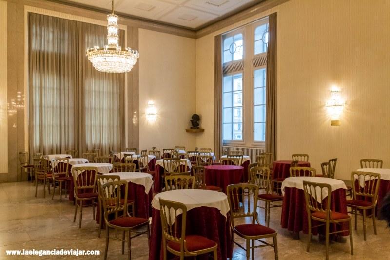 Sala Mahler de la Ópera de Viena