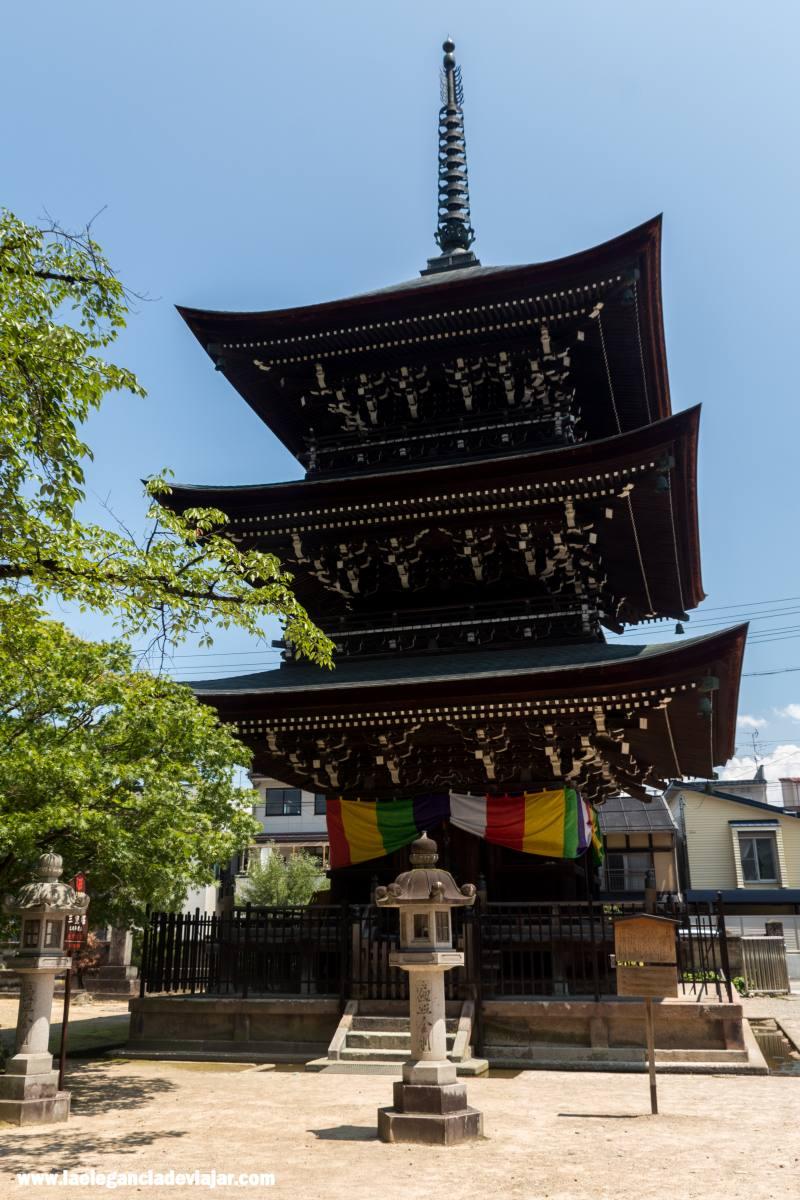 Templo Hida Kokubun-ji en Takayama