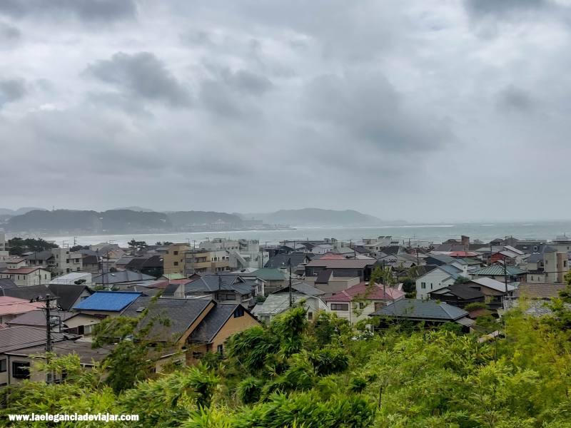 Vistas desde el Templo de Hase-dera