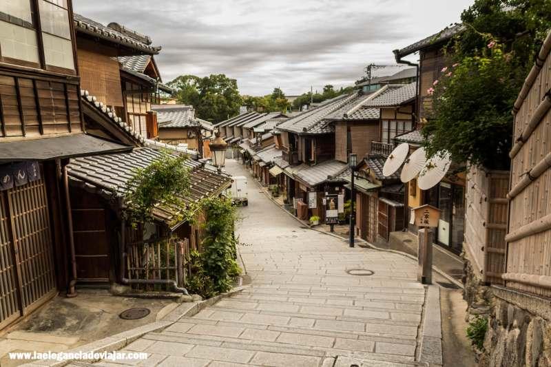 Calles del barrio de Gion