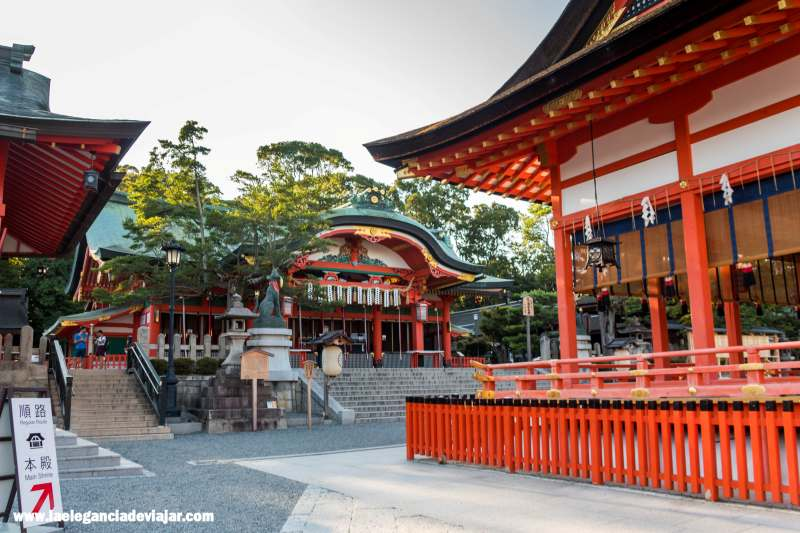 Honden en Fushimi Inari