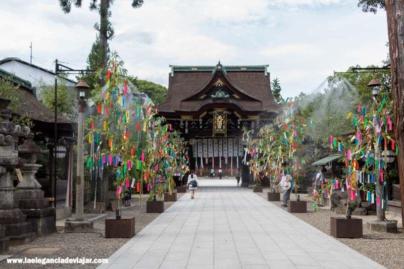 Templo Kitano Tenmangu