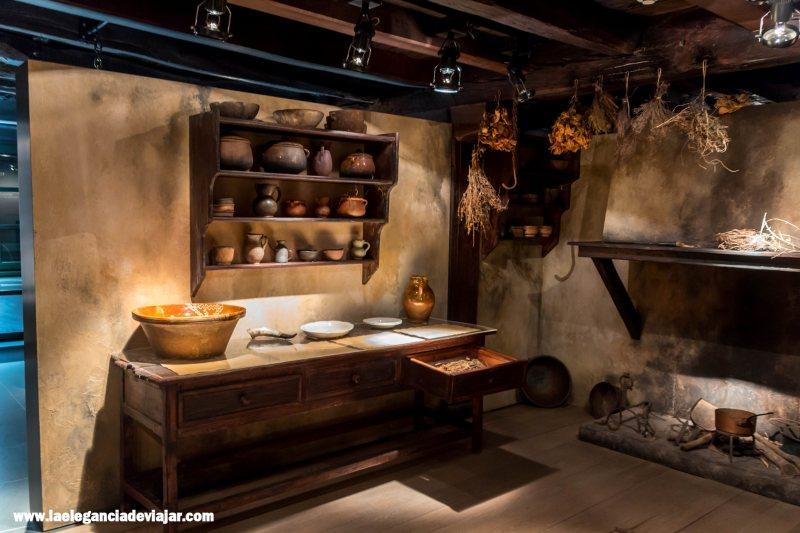 Interior del Museo de las Brujas