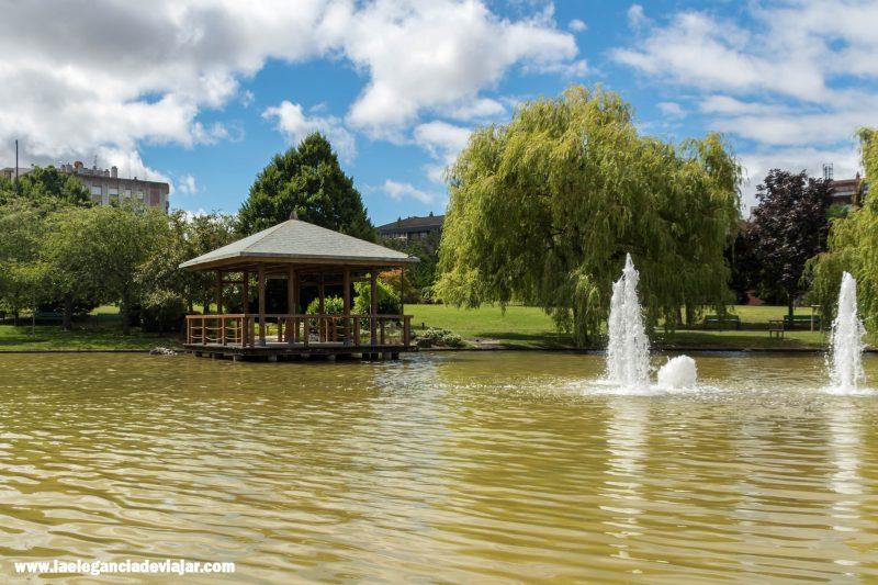 Parque Yamaguchi en Pamplona