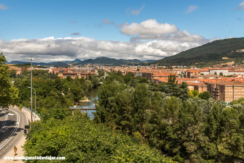 Vistas desde las Murallas de Pamplona
