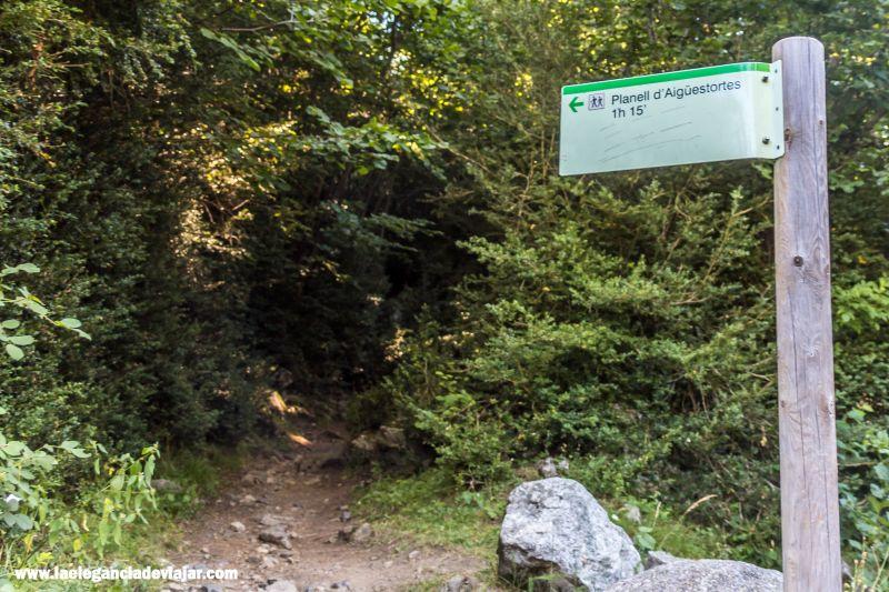 Empieza la ruta desde la Palanca de la Molina