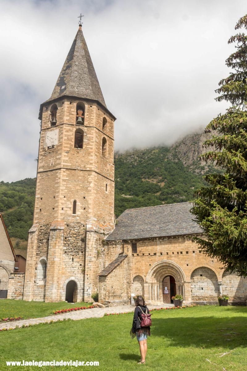 Iglesia románica de Salardú