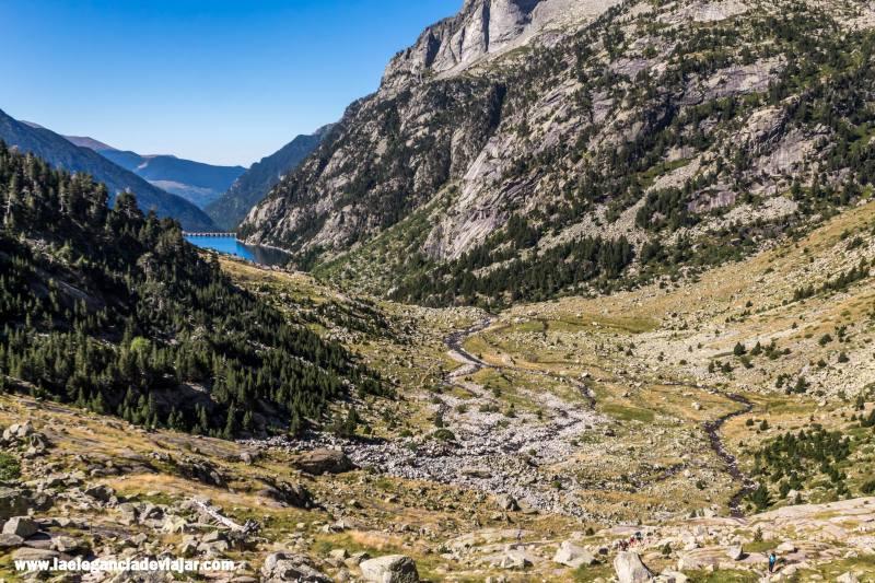 Vistas de la ruta al Refigio Ventosa i Clavell