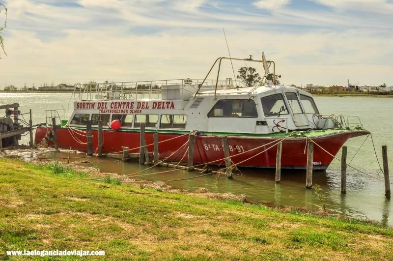 Crucero en el Delta del Ebro