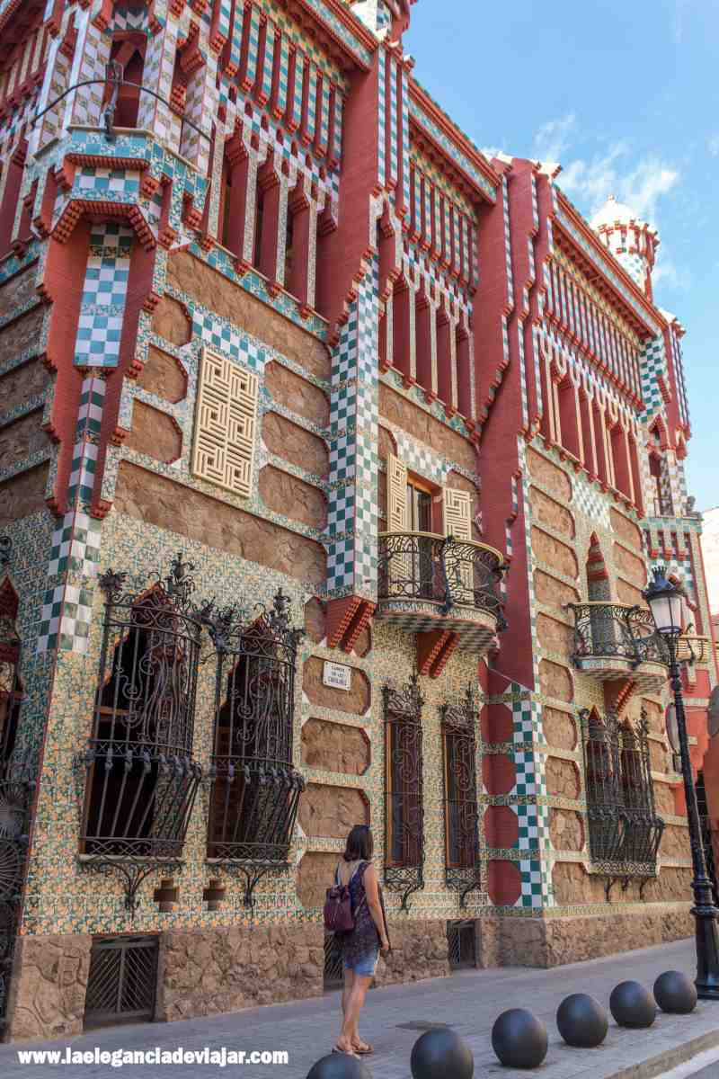 Exterior de la Casa Vicens