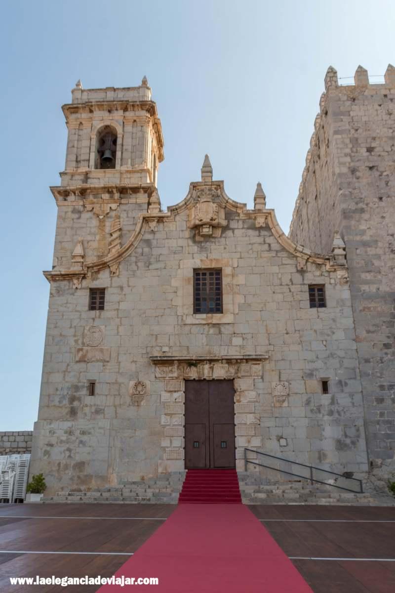 Iglesia de le Ermitana en Pañíscola