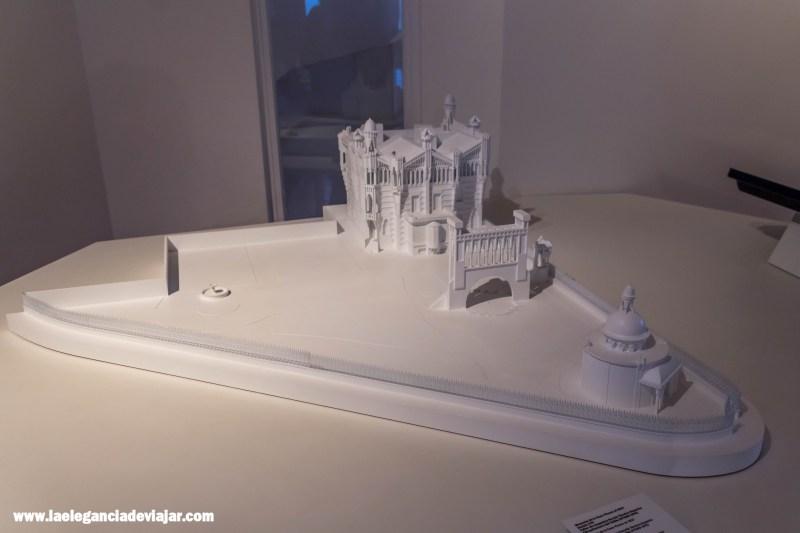 Maqueta de la Casa Vicens