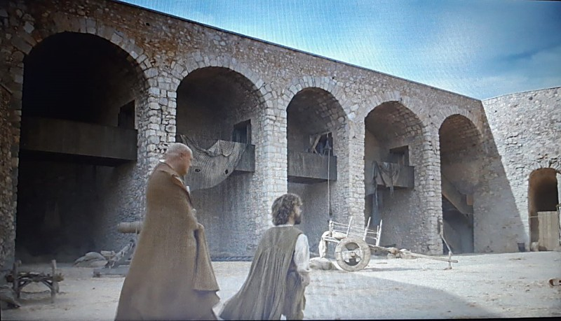 Plaza de Santa María en Juego de Tronos